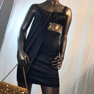 Black Marciano Cocktail Dress in XS